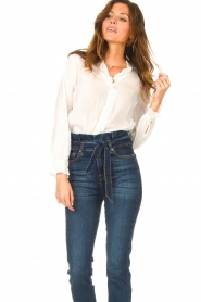 JC Sophie |  See-through blouse Julius | white   | Picture 4
