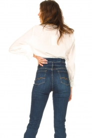 JC Sophie |  See-through blouse Julius | white   | Picture 7