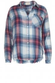 Bella Dahl |   Plaid blouse Nora | blue  | Picture 1