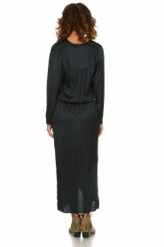 Rabens Saloner |  Maxi dress Carina | blue  | Picture 5