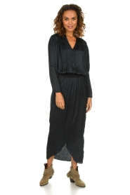 Rabens Saloner |  Maxi dress Carina | blue  | Picture 3