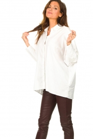 JC Sophie |  Boyfriend blouse Jacqui | white  | Picture 2