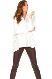 JC Sophie |  Boyfriend blouse Jacqui | white  | Picture 5