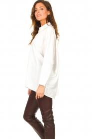 JC Sophie |  Boyfriend blouse Jacqui | white  | Picture 6