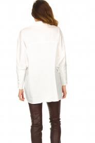 JC Sophie |  Boyfriend blouse Jacqui | white  | Picture 7