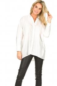 JC Sophie    Boyfriend blouse Jacqui   white    Picture 4