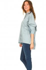 JC Sophie |  Boyfriend blouse Jacqui | blue  | Picture 5