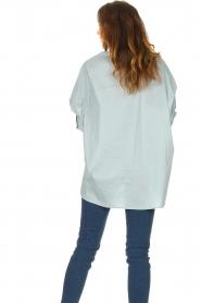 JC Sophie |  Boyfriend blouse Jacqui | blue  | Picture 6
