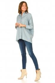 JC Sophie |  Boyfriend blouse Jacqui | blue  | Picture 3