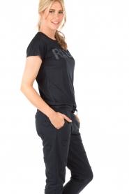 Zoe Karssen | T-shirt Rage | donkerblauw  | Afbeelding 4