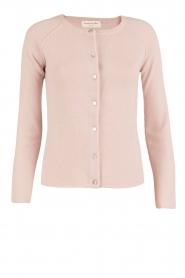 Rosemunde | Wol/kasjmier vest Isa | light pink  | Afbeelding 1