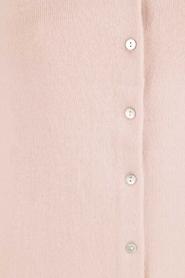Rosemunde | Wol/kasjmier vest Isa | light pink  | Afbeelding 6