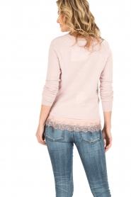 Rosemunde | Wol/kasjmier vest Isa | light pink  | Afbeelding 5
