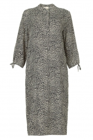 JC Sophie |  Tunic dress with print Julie | black  | Picture 1