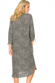 JC Sophie |  Tunic dress with print Julie | black  | Picture 7