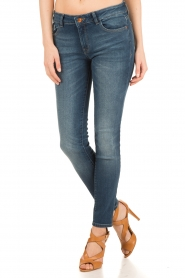 DL1961 | Slim fit jeans Florence Coleman | blauw  | Afbeelding 2