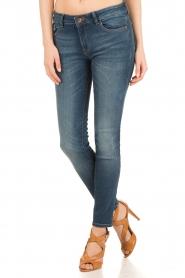 DL1961 | Slim fit jeans Florence Coleman | blauw  | Afbeelding 3