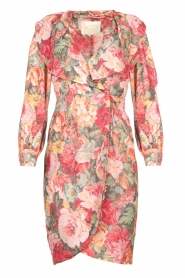 Notes Du Nord |  Floral dress Rositta | pink  | Picture 1