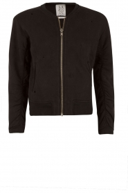 Bomber jacket The Golden Eagle | black