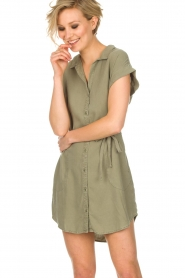 Bella Dahl | Tuniekjurk Mina | groen  | Afbeelding 2