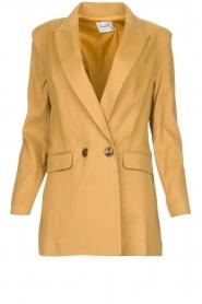 AnnaRita N |  Linen blazer Philly | camel  | Picture 1