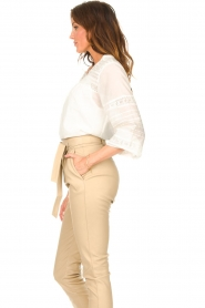 JC Sophie |  Embroidered blouse Jaipur | white  | Picture 5