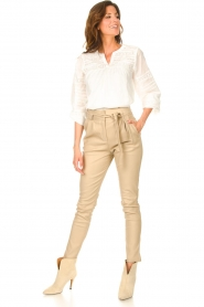 JC Sophie |  Embroidered blouse Jaipur | white  | Picture 3