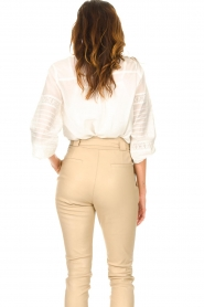JC Sophie |  Embroidered blouse Jaipur | white  | Picture 6