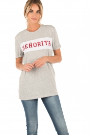 T-shirt Senorita | light grey