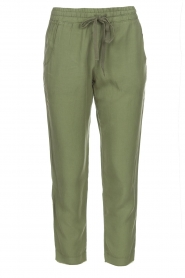 Bella Dahl |  Pants Oula | green  | Picture 1