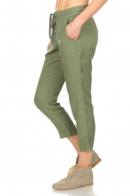 Bella Dahl |  Pants Oula | green  | Picture 4