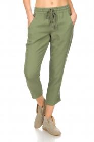 Bella Dahl |  Pants Oula | green  | Picture 3