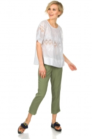 Bella Dahl |  Pants Oula | green  | Picture 3