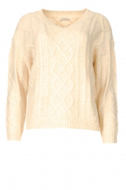 JC Sophie |  Knitted sweater Journey | beige   | Picture 1