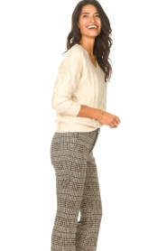 JC Sophie |  Knitted sweater Journey | beige   | Picture 5