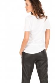 Zoe Karssen | T-shirt Lucky Nr 777 | wit  | Afbeelding 5