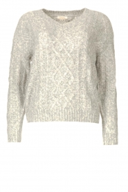 JC Sophie |  Knitted sweater Journey | grey  | Picture 1