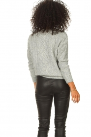 JC Sophie |  Knitted sweater Journey | grey  | Picture 7