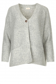 JC Sophie |  Knitted cardigan Joanna | grey  | Picture 1