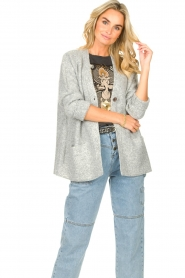 JC Sophie |  Knitted cardigan Joanna | grey  | Picture 2