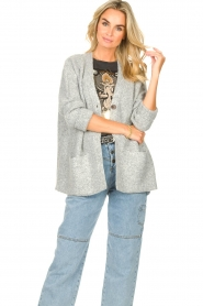 JC Sophie |  Knitted cardigan Joanna | grey  | Picture 4