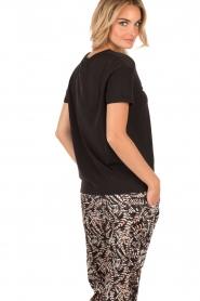 T-shirt Simplicite | zwart