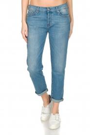 7 For All Mankind | Boyfriend jeans Josefina | blauw  | Afbeelding 2