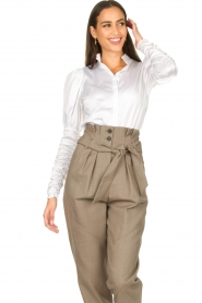 Notes Du Nord |  Puff sleeve blouse Nila | white  | Picture 5