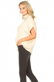 JC Sophie |  Oversized knitted spencer Jo-Marie | creme  | Picture 5
