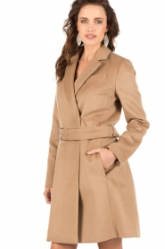 MICHAEL Michael Kors | Trenchcoat Tailored | camel  | Afbeelding 4