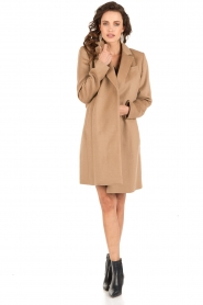 MICHAEL Michael Kors | Trenchcoat Tailored | camel  | Afbeelding 3