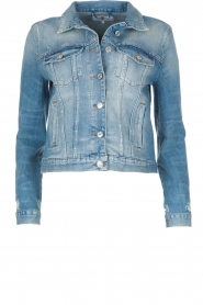 7 For All Mankind |  Denim jacket Eclipse | blue  | Picture 1