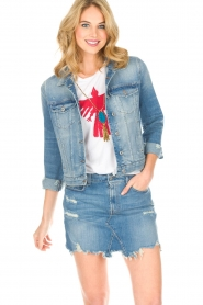 7 For All Mankind |  Denim jacket Eclipse | blue  | Picture 2