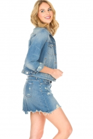 7 For All Mankind |  Denim jacket Eclipse | blue  | Picture 5